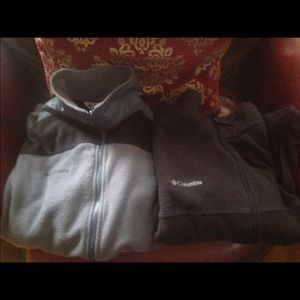 Columbia  Mens fleece jackets set of 2